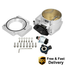 Ls1 Ls2 Ls6 92mm Throttle Body With Tps Iac With Intake Manifold Adapter Plate