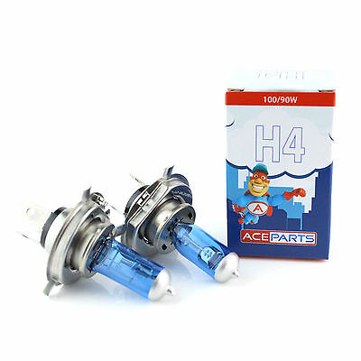 VW Crafter 100w Super White Xenon HID High//Low//Side Headlight Bulbs Set