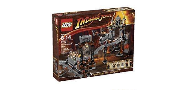 LEGO Indiana Jones 7199 - The Temple of  Doom - NEUF nouveau, SCELLÉE SEALED  100% de contre-garantie authentique