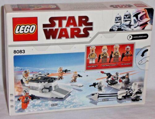 SEALED 8083 LEGO Star Wars REBEL TROOPER BATTLE PACK Hoth Army Builder set Zev