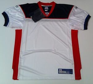 low priced c2f66 c5bff Details about Buffalo Bills Men's Authentic Reebok NFL Throwback Blank  Jersey Sz 50-56