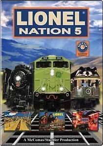 Lionel-Nation-5-Brand-New-DVD-Ships-fast-same-day