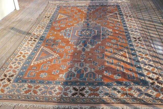 Turkish Hand Knotted Area Rug Carpet