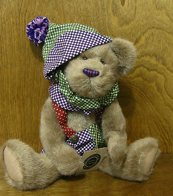 """NEW//Tag From our Retail Store Jointed Boyds Plush #51780-03 PUFFLEBEARY 14/"""""""