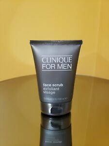 Clinique For Men Face Scrub Exfoliant Visage 100ml Sealed 2021 Item 20714125608 Ebay