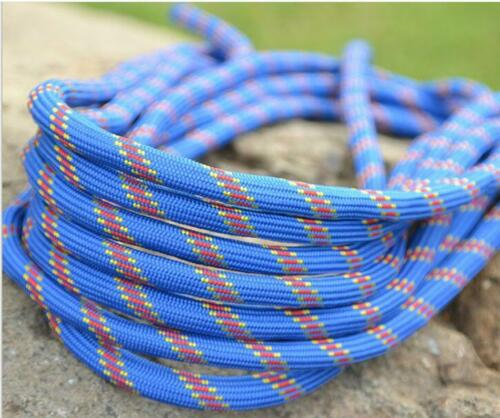 Rescue Safety Tree Rock Climbing Sling Rappelling Rope for Hiking Caving 30M UK