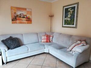 Rundecke Sofa Creme 2 50 X 2 40 Gebraucht Ca 10 Jahre Alt Ohne