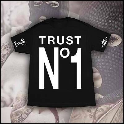 TRUST NO ONE MENS SHIRT 187 INC SIC MADE SPECIAL EDITION