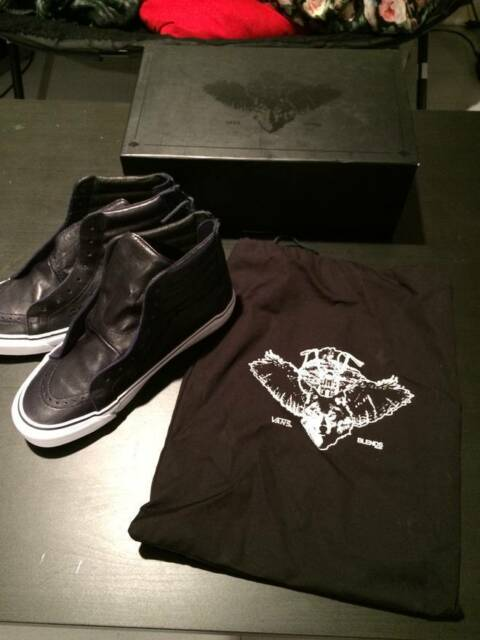 02fc684d71823c Frequently bought together. Vans Sk8-Hi Reissue Zip LX Peacoat Bones Blends  Size 11 black
