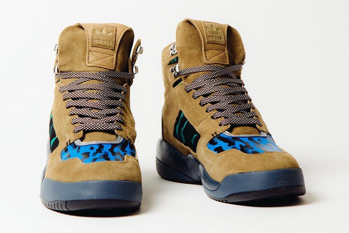 adidas Men's EQT Trail Shoes Medium Khaki/Blue/Teal