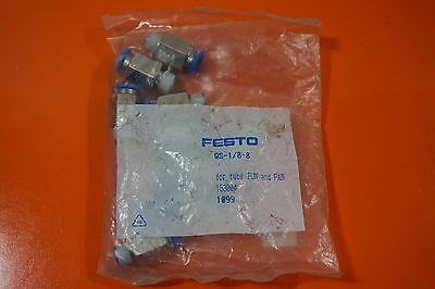 (1,80€/einheit) 10x Festo Qs-1/8-8 153004 Fittings Festo Qs1/88 Ein GefüHl Der Leichtigkeit Und Energie Erzeugen