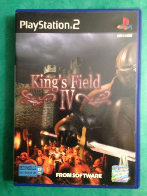King's Field IV 4 (From Software) - PS2 - FR