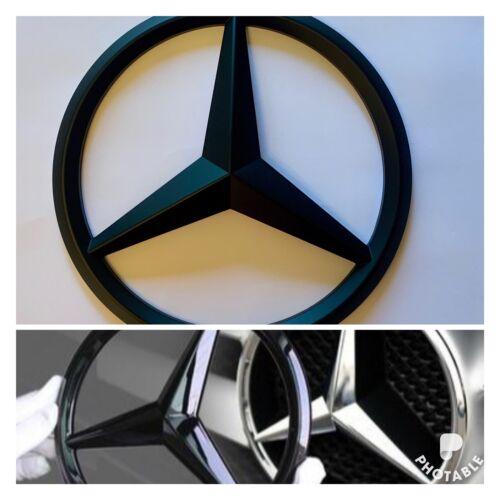 Mercedes-Benz MatteBlack Front Grille Star BadgeA C B E CLA GLA R ML GL GLE S UK