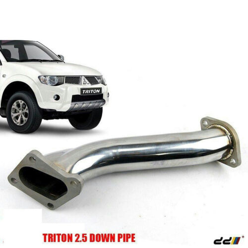 Turbo Stainless Steel Exhaust Down Pipe Mitsubishi L200 2.5L 4D56 Turbo Triton