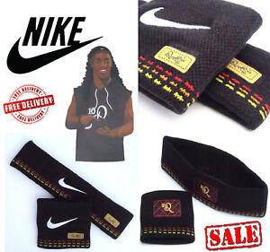 Nike Ronaldinho Mens Sports Tennis Sweatbands Football Headbands