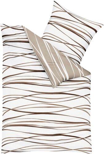 diverse Farben Kaeppel Biber Bettwäsche Motion 135x200 oder 155x220 cm