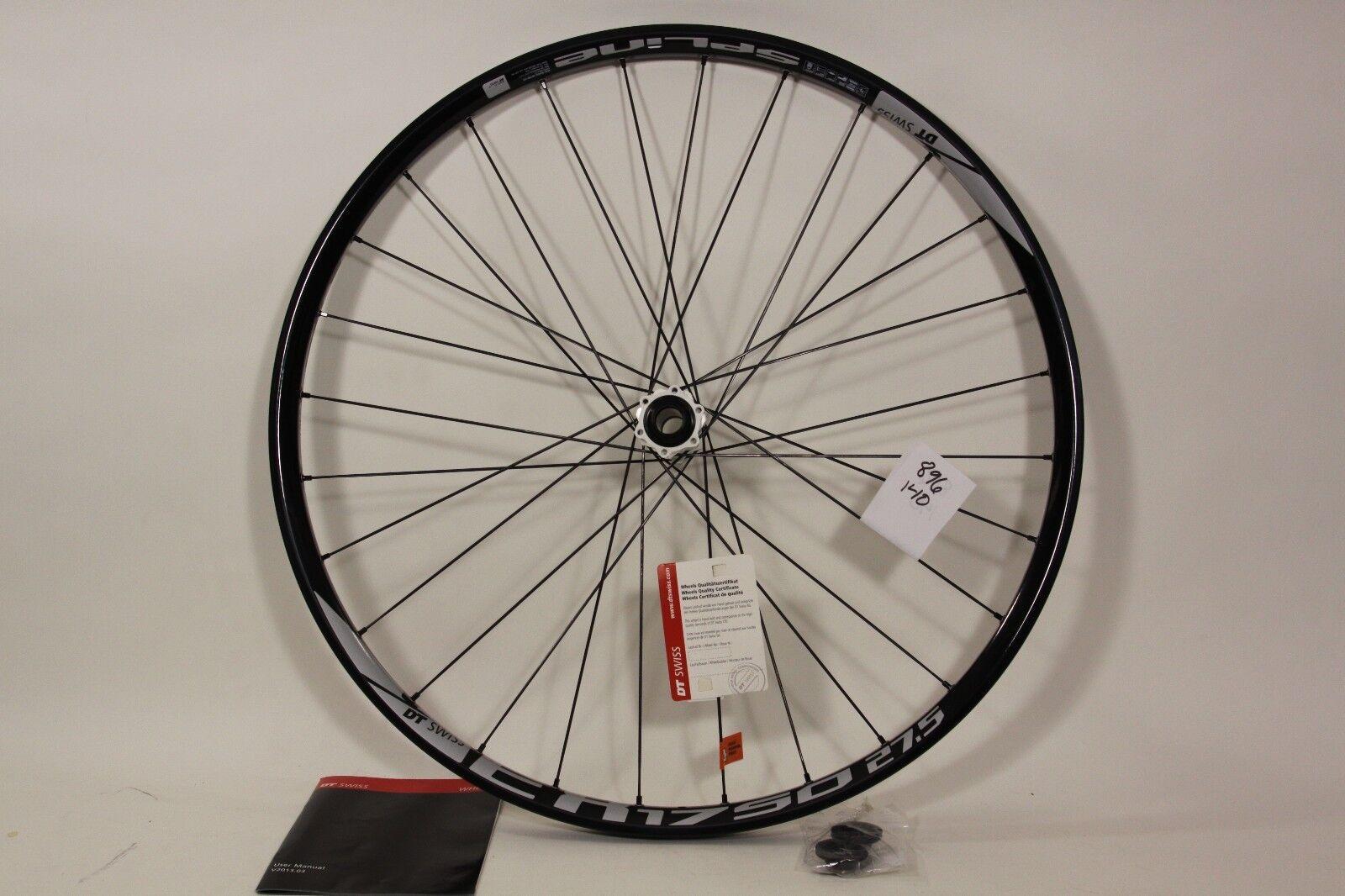 DT Swiss 27.5 Front Wheel EX 1750 Spline 20 15x110mm Axle 28h  896140