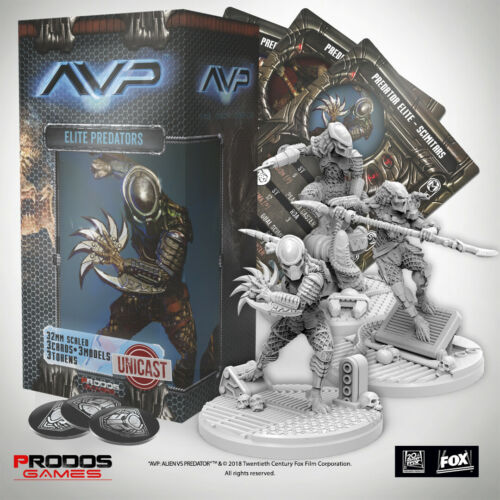 AVP Alien Vs Predator La caccia inizia Elite Predator Unicast espansione prodos UK