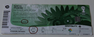 Ticket for collectors World Cup 2014 * Italy Uruguay in Natal - Internet, Polska - Ticket for collectors World Cup 2014 * Italy Uruguay in Natal - Internet, Polska