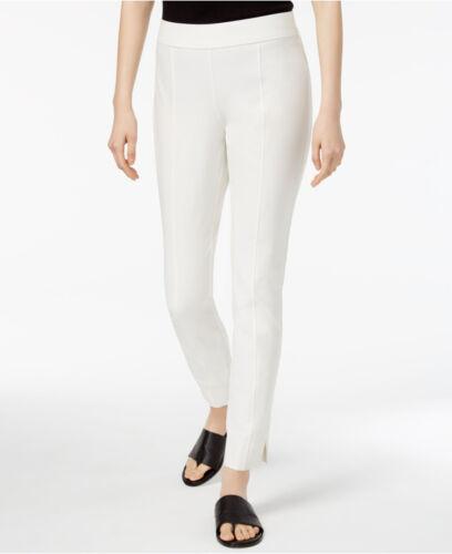 in con Eileen pantaloni lavabili Fisher sottile crepe 178 Women's Petites Bone gamba WTYqw1x884