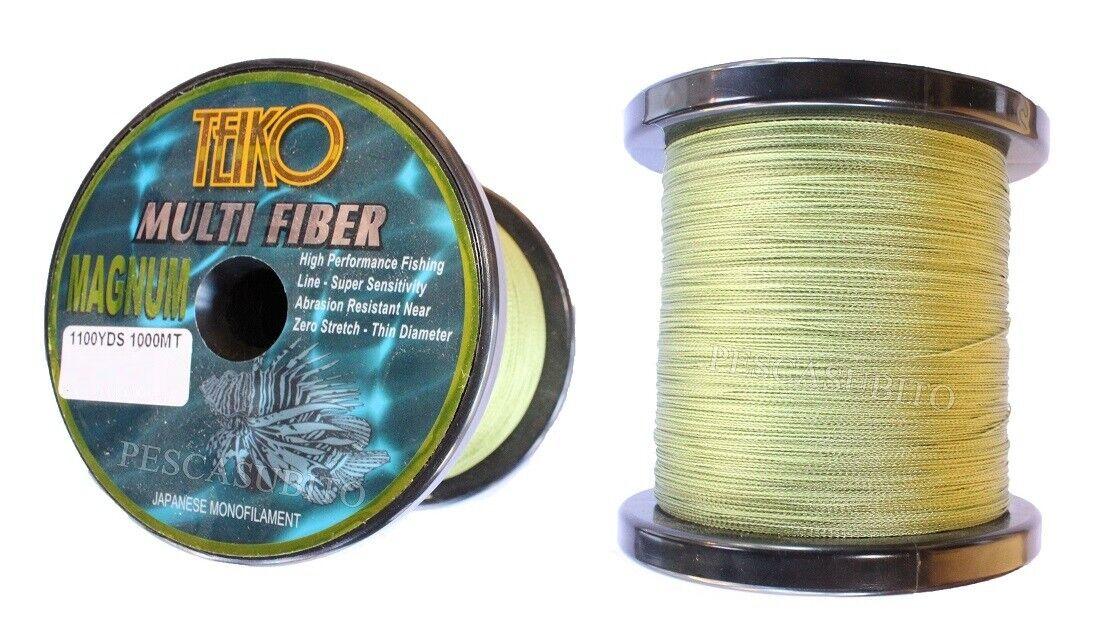 Trecciato 1000Mt 0.40mm Multifibra Treccia Pesca Carpfishing Bolentino Spinning