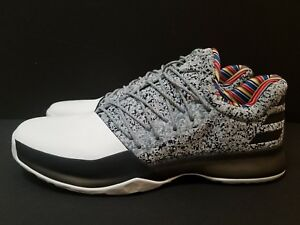 ADIDAS MENS JAMES HARDEN VOL 1 BHM ARTHUR ASHE EDITION BY3473 SIZE ... 0416f3312f34