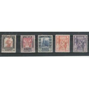 1931-Libye-Serie-Imager-5-Val-MNH-MF70929