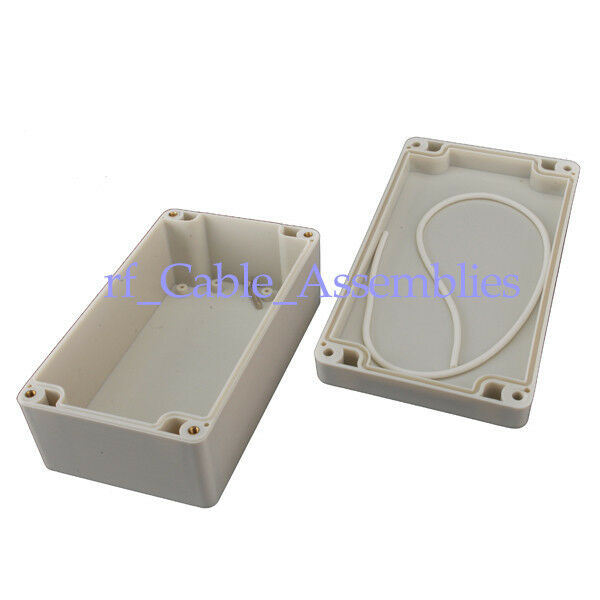 3x Waterproof Plastic Electronic Project Box Enclosure Case DIY - 158x90x60mm