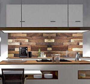 Küchenrückwand Spritzschutz Fliesenspiegel nach Maß Acrylglas ...