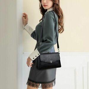 Small-Vintage-Bag-Women-Faux-Leather-Messenger-Shoulder-Handbag-Solid-Color