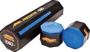 New-Predator-1080-Pure-Chalk-1-Tube-of-5-Pieces-Blue-Chalk-Pure-Silica