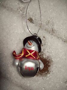 "New ""Jesus"" Snowman Jingle Bell Ornament- Last One in Stock With This Name"
