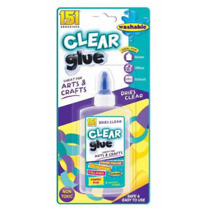 150ml-Non-Toxic-Safe-Clear-Glue-School-Art-Craft-Office-Adhesive-Bond-Stationery