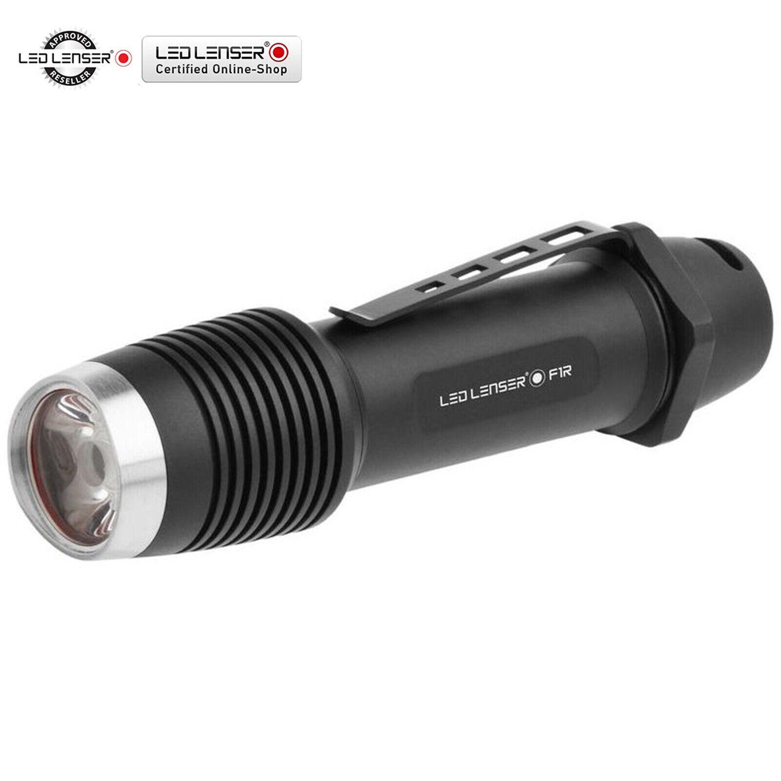 LED LENSER F1R Rechargeable Battery 400 Lumens Outdoor Light Flashlight
