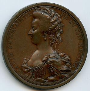 Revolution-Execution-de-Marie-Antoinette-16-octobre-1793-Medaille
