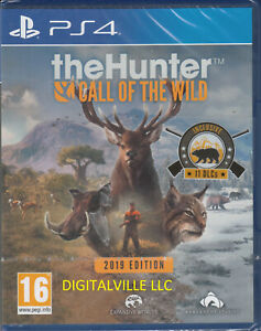 The Hunter Call of the Wild PS4 2019 Edition Brand New FactorySealed