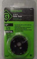 Greenlee 826-2 2 Bi-metal Hole Saws For 1-1/2 Conduit Usa