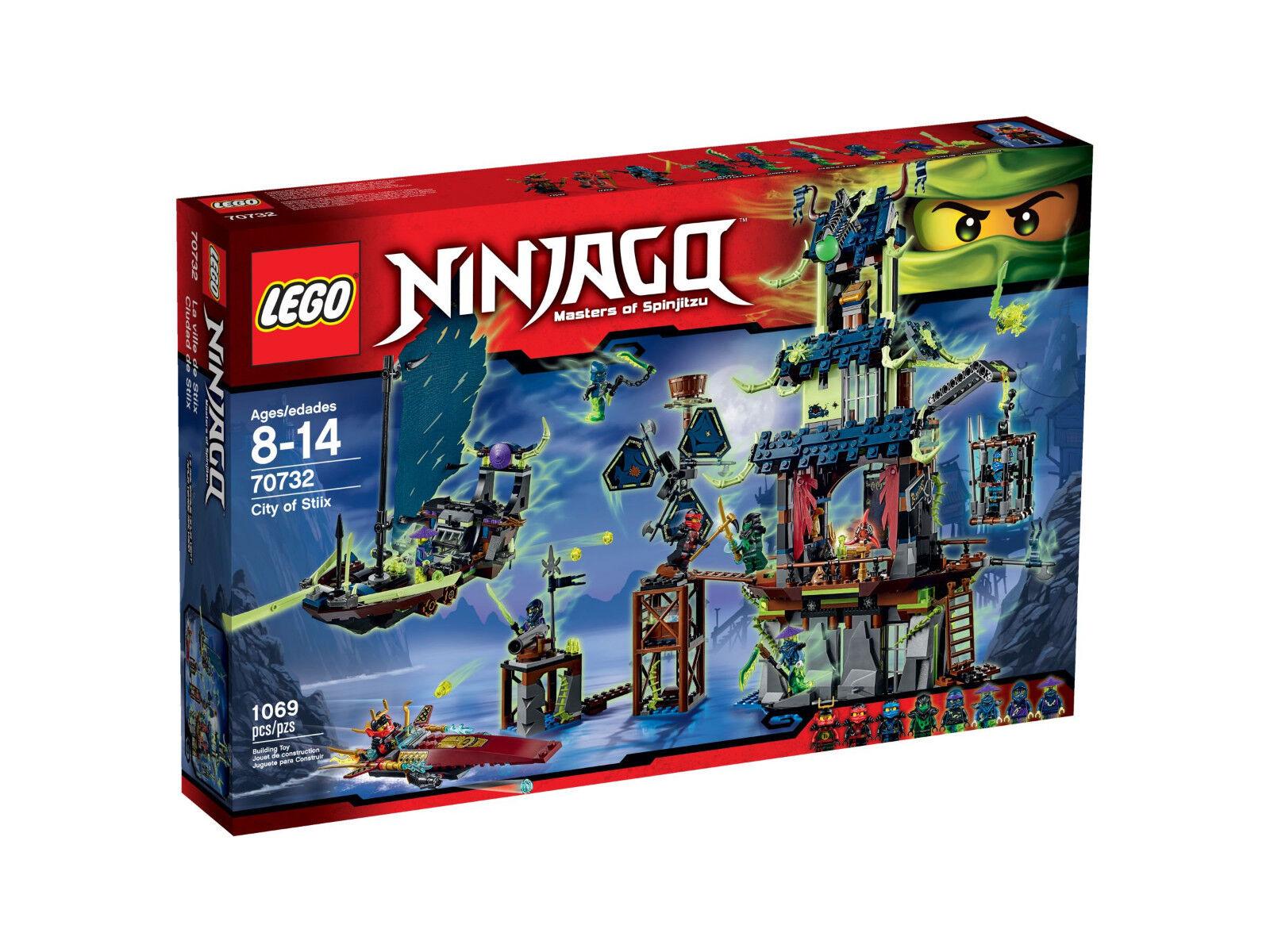 LEGO Ninjago 70732 - Die Stadt Stiix - City Evil Green Böser Grüner Ninja Nya