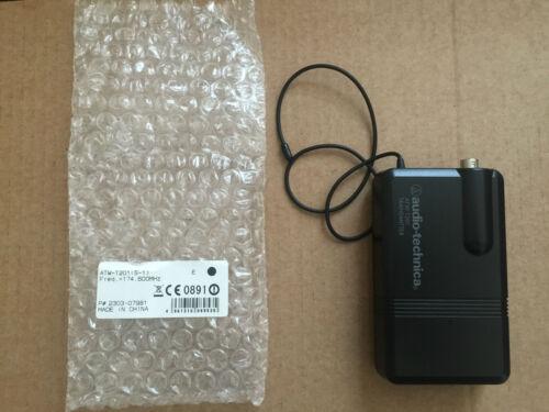 Audio-Technica ATW-T201 VHF Bodypack Transmitter 174.600MHz Microphone Mic