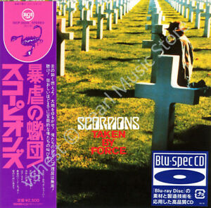 SCORPIONS TAKEN BY FORCE CD MINI LP OBI BLU-SPEC Klaus Meine Rudolf Schenker new