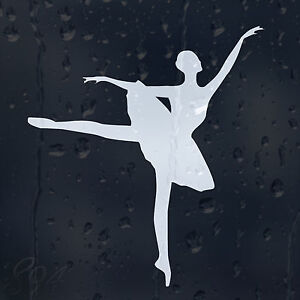 Ballet Dancer Girls Womans Ladys Car Decal Vinyl Sticker For - Modern car decal sticker girl