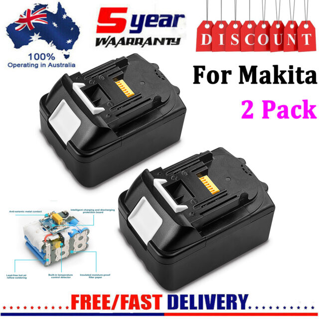 2Pack 18 Volt for Makita LXT Lithium Battery BL1830 BL1840 BL1850 BL1860 NEWEST