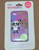 I Pod Touch 4 Case Justice Glows In Dark Purple With Bears