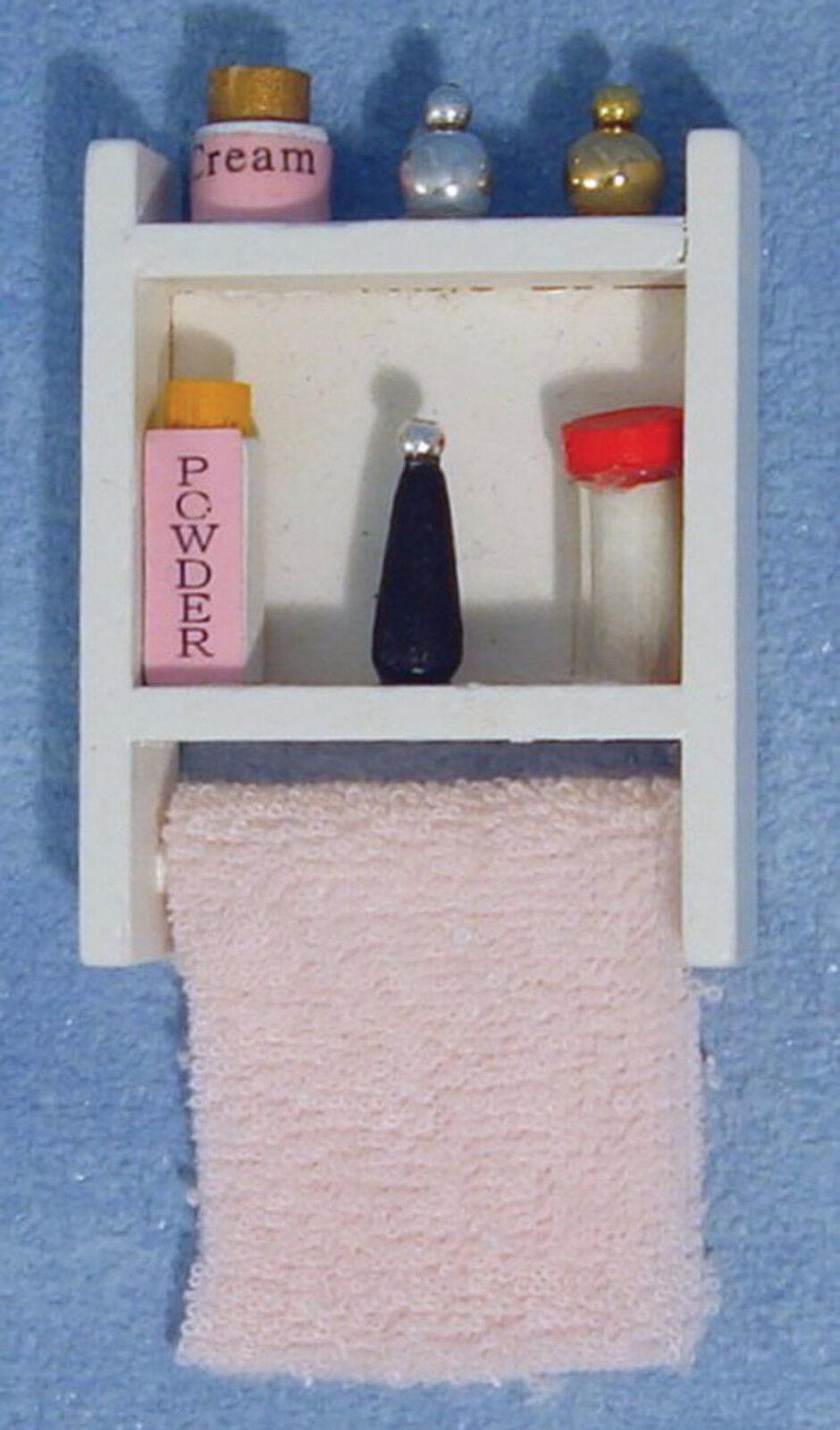 Escala 1 12 Casa De De De Muñecas pequeña unidad de baño artículos de tocador 9358c0