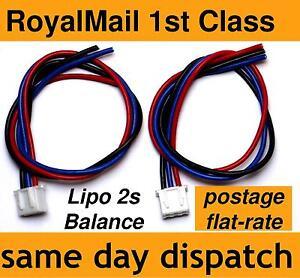 Lipo-Balance-Lead-for-repairing-battery-packs-2s-JST-XH-male-2-cell-7-4V-22AWG
