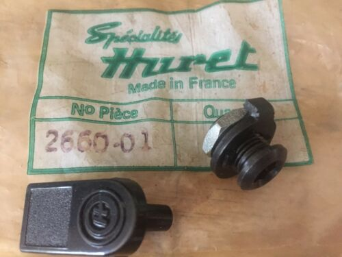 NOS Huret Mounting Kit Bolt-Tab-Nut For DUOPAR Derailleur on Campagnolo Dropouts