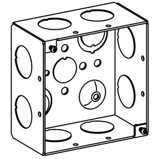 4sdb 75 Orbit 4 Inch Square Box 2 13 Inch Deep For Sale Online