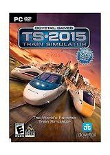 Train Simulator 2015 (PC DVD) Free Shipping