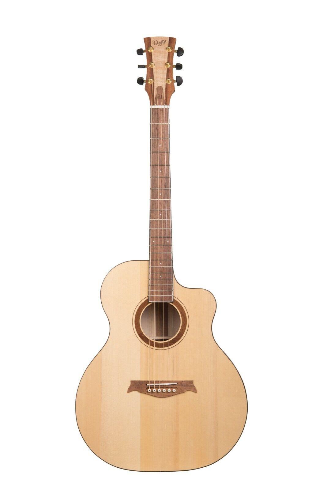 NEW Acoustic guitar   Doff 013 Jumbo Cutaway