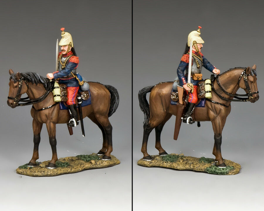 KING AND COUNTRY WW1 French - Cuirassier with Sword Drawn FW222